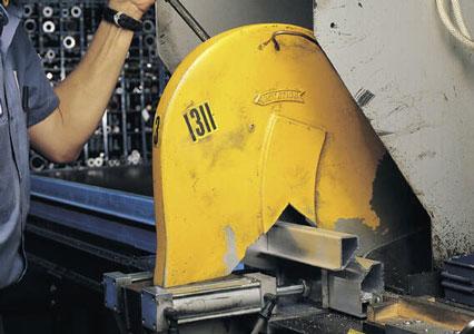 Abrasive Sawing